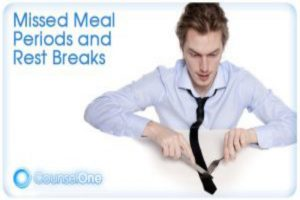 Rest And Meal Breaks For Restaurant Workers